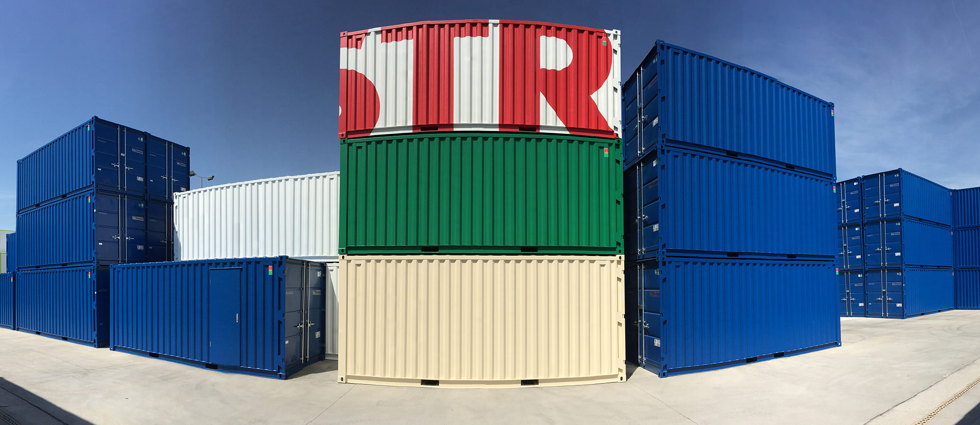 Containers neufs