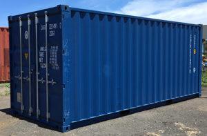 Container neuf bleu
