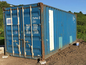 Container d'occasion 6m